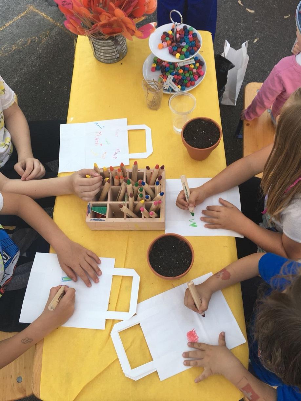 Kinder malen Kompr.